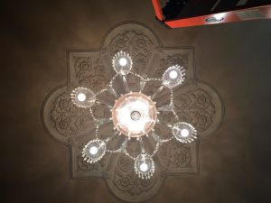 Crystal Chandelier, USC